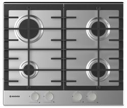 HOOVER HHG6BRMX Gas Hob - Stainless Steel