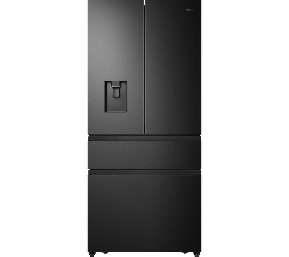HISENSE PureFlat RF540N4WF1 Fridge Freezer - Black Steel