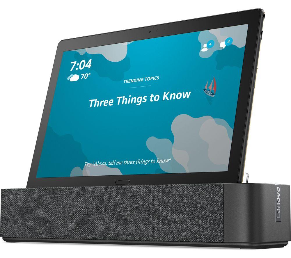 """LENOVO Smart Tab P10 10.1"""" Tablet - 64 GB, Black"""
