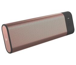 BoomBar+ Portable Bluetooth Speaker - Rose Gold