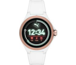PT9102 Smartwatch - White & Rose Gold, Universal