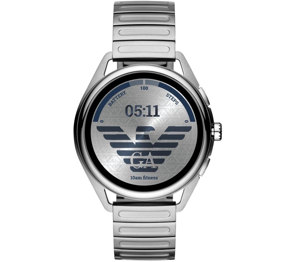 Image of EMPORIO ARMANI ART5026 Smartwatch - Silver, 44.5 mm, Silver