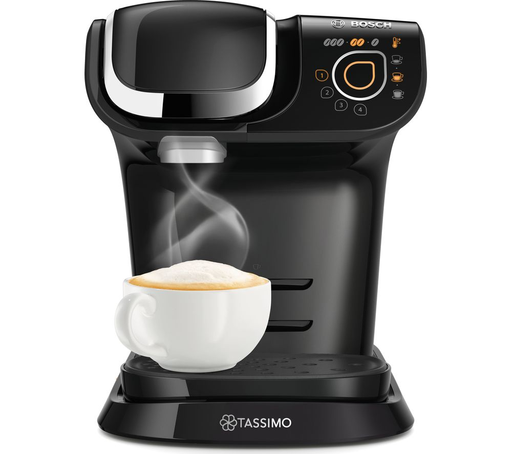 TASSIMO by Bosch My Way TAS6502GB Coffee Machine - Black, Black