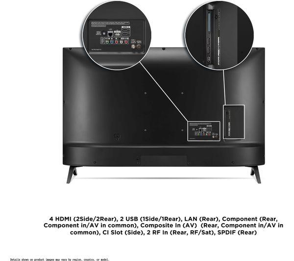 TV 109,2 cm (43 INCH) - LG 43UN80006LC 109,2 cm (43 INCH) 4K Ultra HD