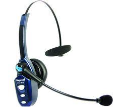 BlueParrott B250-XTS Wireless Headset - Blue & Black