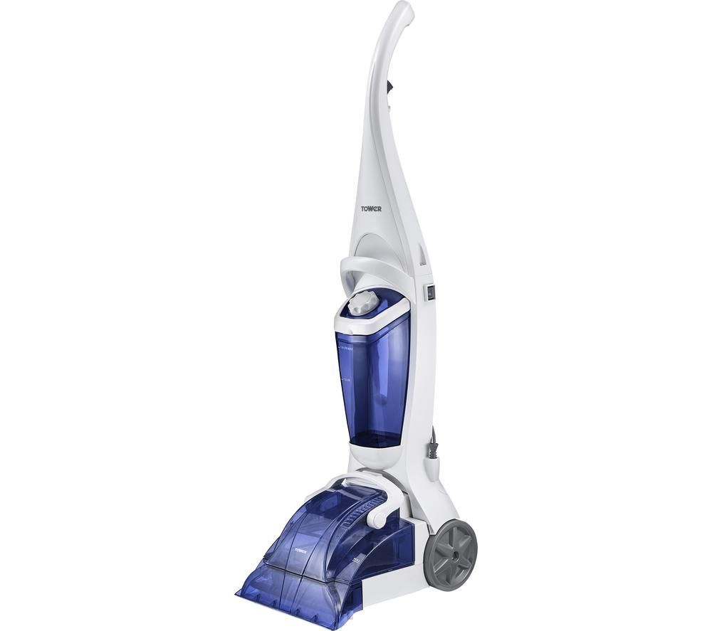 TOWER TCW10 Upright Carpet Cleaner - Blue & White, Blue