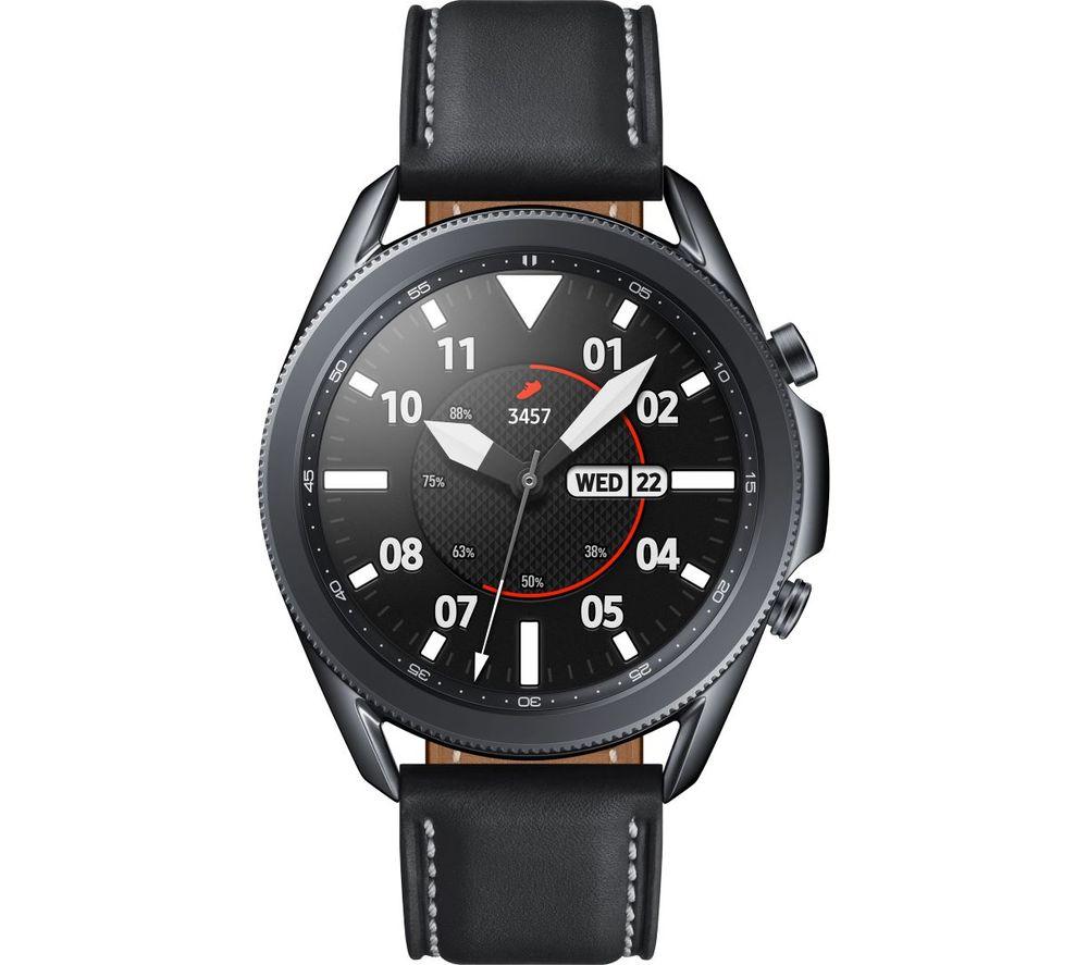 SAMSUNG Galaxy Watch3 - Mystic Black, 45 mm