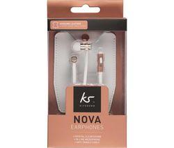 Nova KSNOVRG Earphones - Rose Gold
