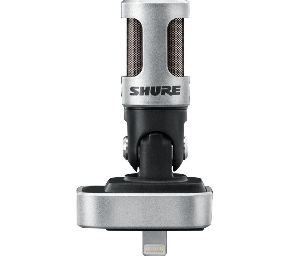 SHURE Motiv MV88 Lightning Microphone - Black