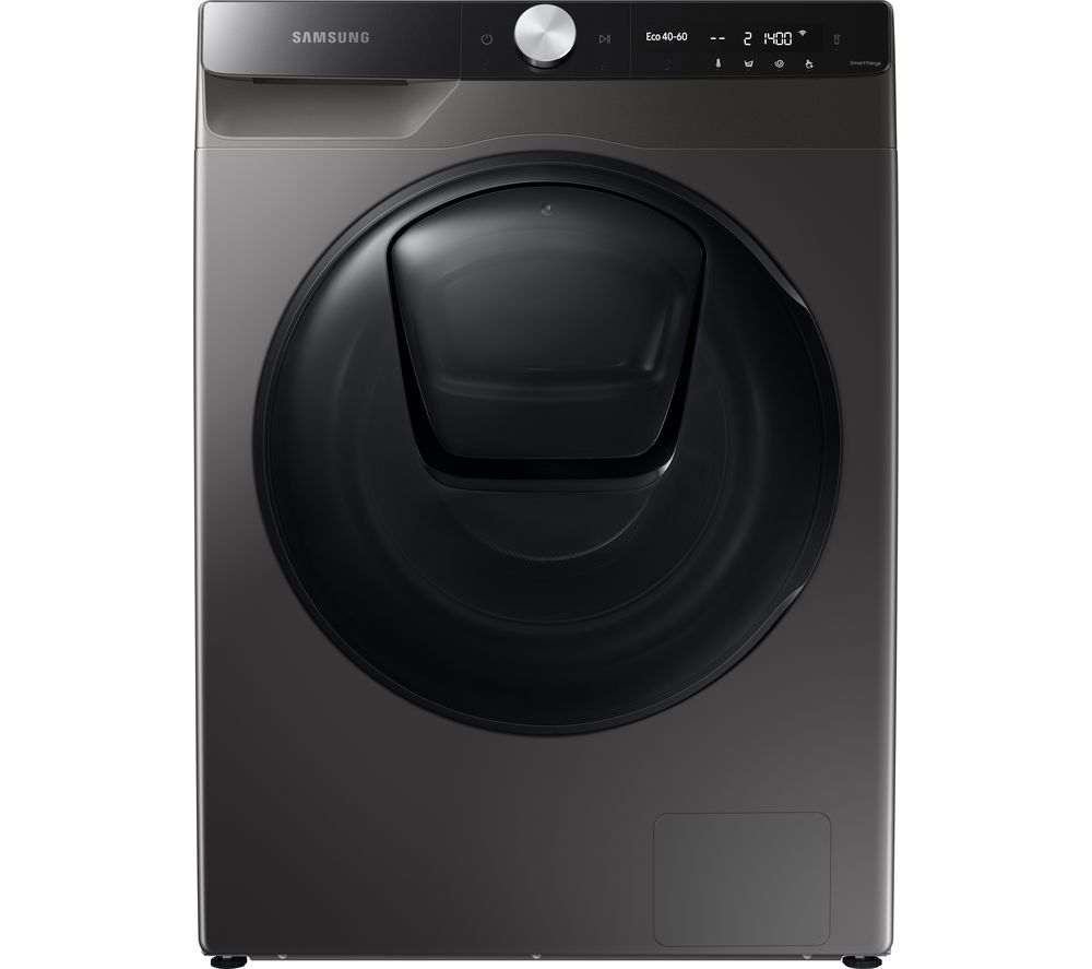 SAMSUNG Series 8 QuickDrive WW90T854DBX/S1 WiFi-enabled 9 kg 1400 Spin Washing Machine - Graphite