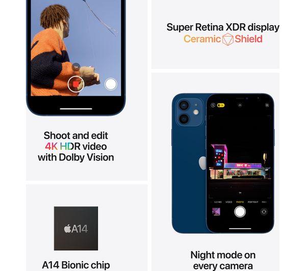 Apple iPhone 12 - 64 GB, Blue 8