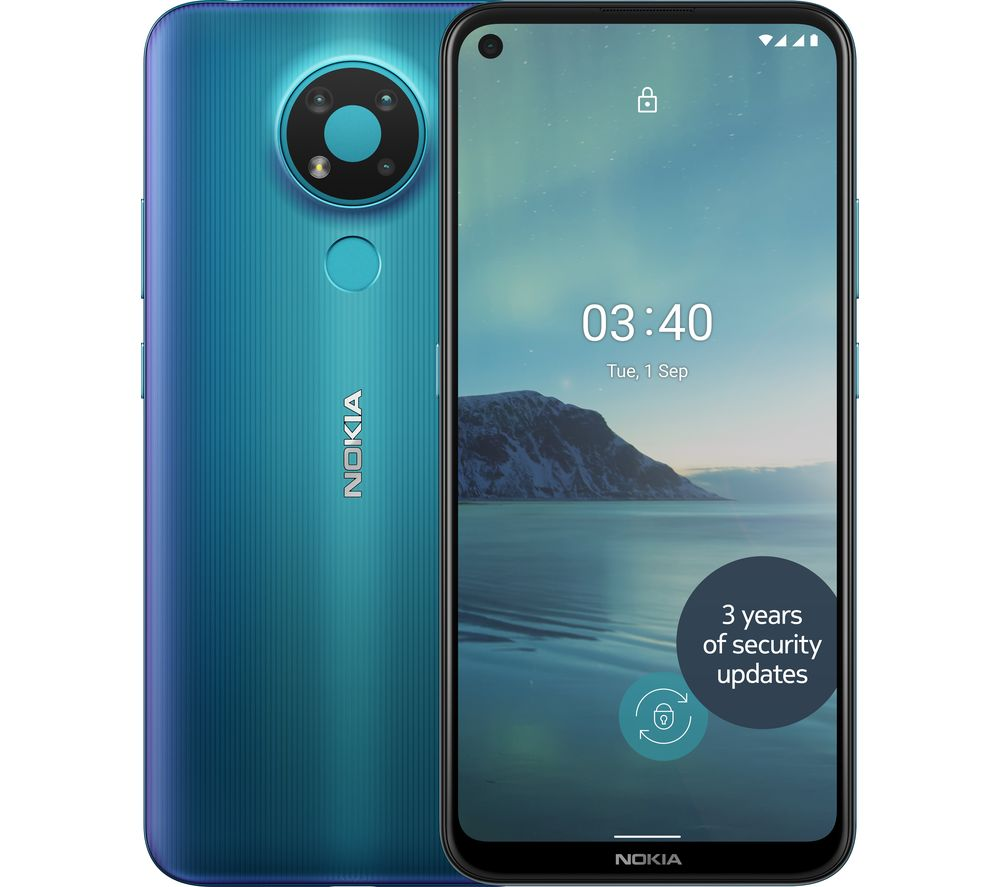 NOKIA 3.4 - 32 GB, Blue, Blue