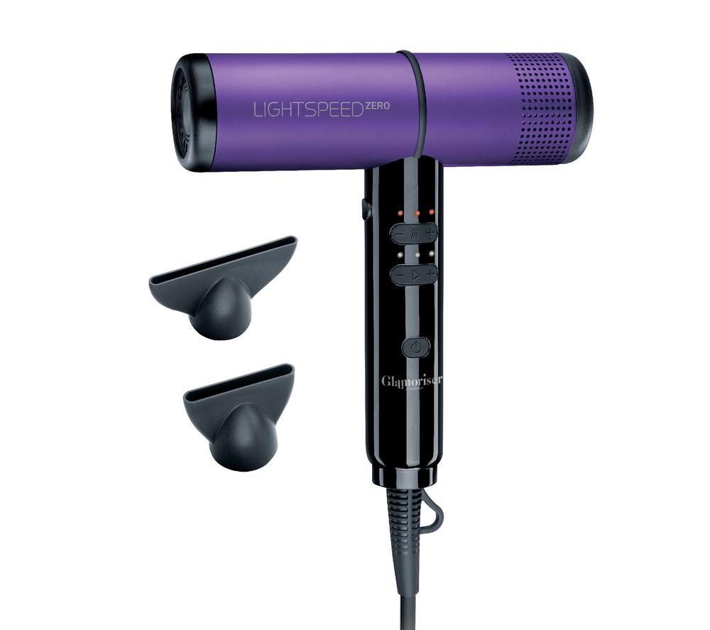 GLAMORISER Lightspeed Zero GLA050 Hair Dryer - Purple