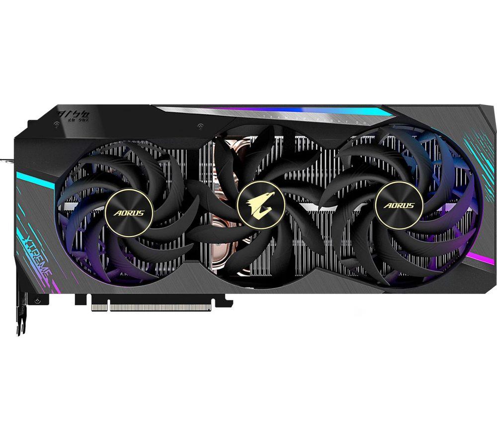 GIGABYTE GeForce RTX 3090 24 GB AORUS XTREME Graphics Card