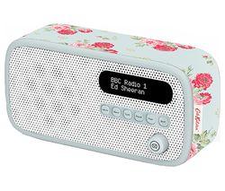 Dexter Portable DAB+/FM Radio - Cath Kidston Antique Rose