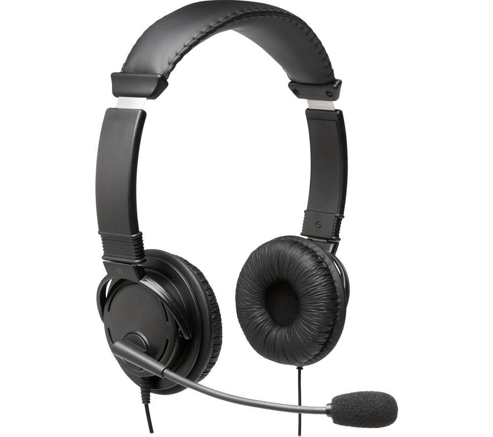 KENSINGTON K97601WW Headset - Black
