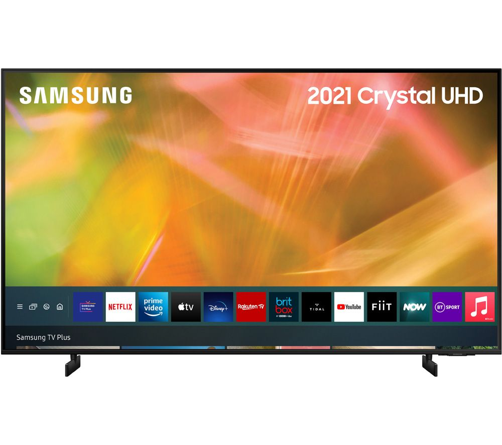 Buy Samsung Ue43au8000kxxu 43 Smart 4k Ultra Hd Hdr Led Tv With Bixby Alexa Google Assistant Free Delivery Currys