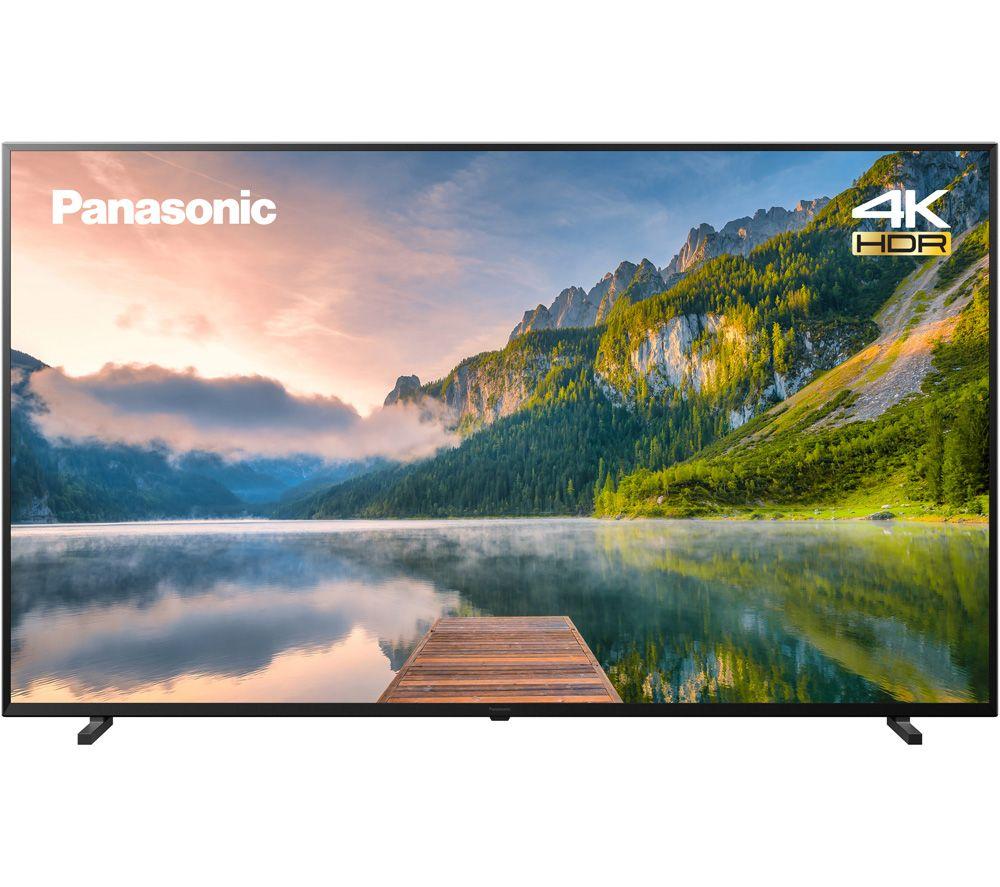 "PANASONIC TX-65JX800B 65"" Smart 4K Ultra HD HDR LED TV with Google Assistant"