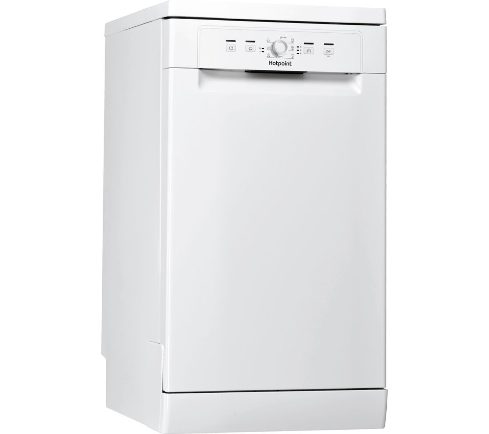 HOTPOINT HSFE 1B19 UK N Slimline Dishwasher - White