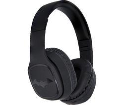 DC0667 Batman Dark Knight Wireless Bluetooth Kids Headphones - Black