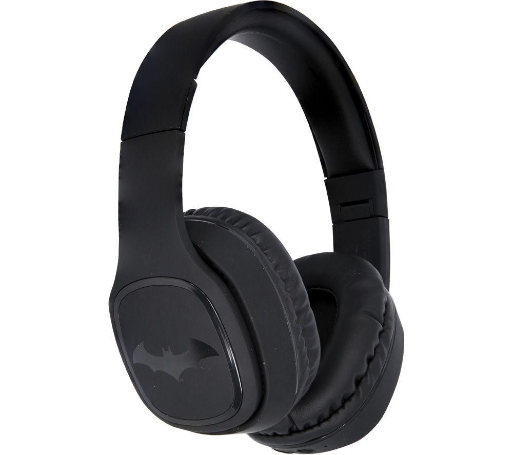 OTL DC0667 Batman Dark Knight Wireless Bluetooth Kids Headphones - Black