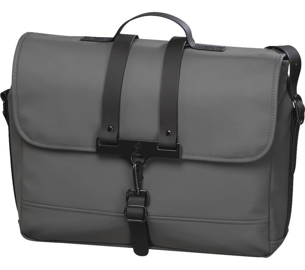 "HAMA Perth 15.6"" Laptop Messenger Bag - Grey"