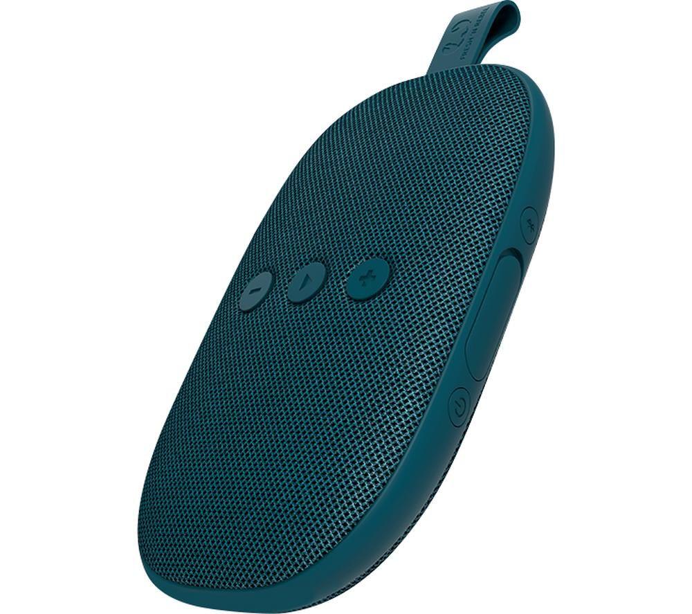 FRESH N REBEL Rockbox Bold X Portable Bluetooth Speaker - Petrol Blue