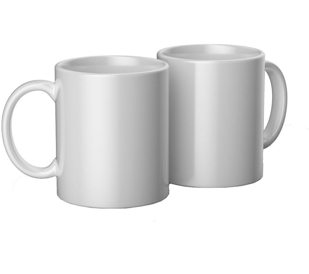 CRICUT Ceramic Mug Blank - White, Pack of 2