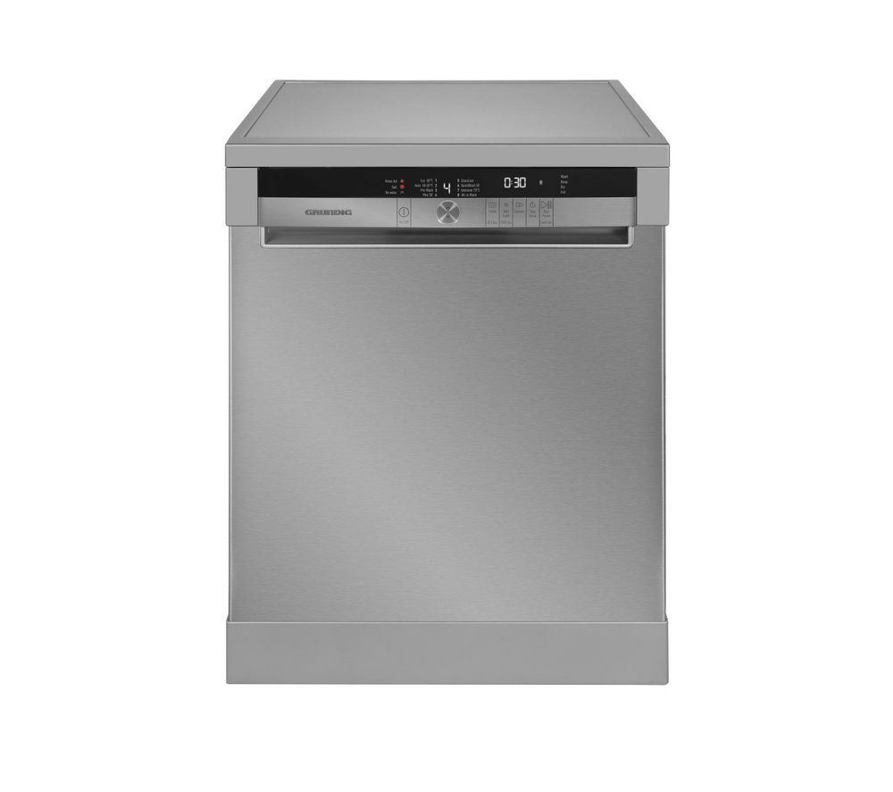 Compare retail prices of Grundig GNF41810X Full-size Dishwasher Stainless Steel to get the best deal online