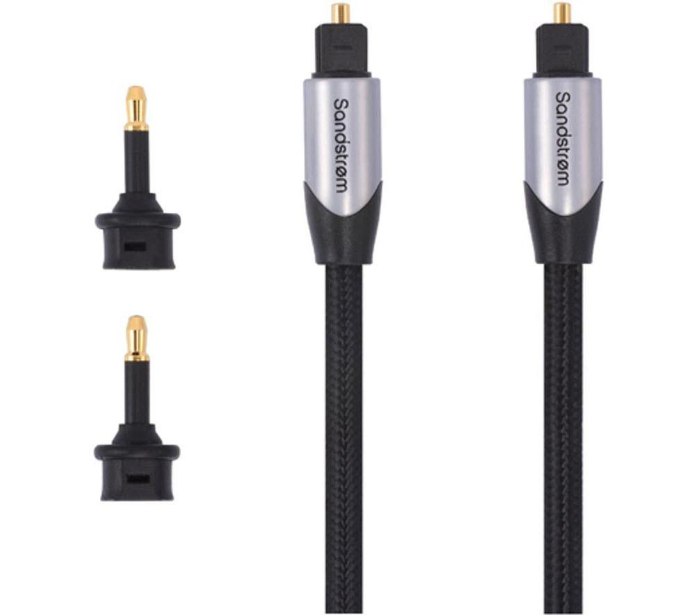 Compare prices for Sandstrom AV Silver Series Digital Optical Cable 2m