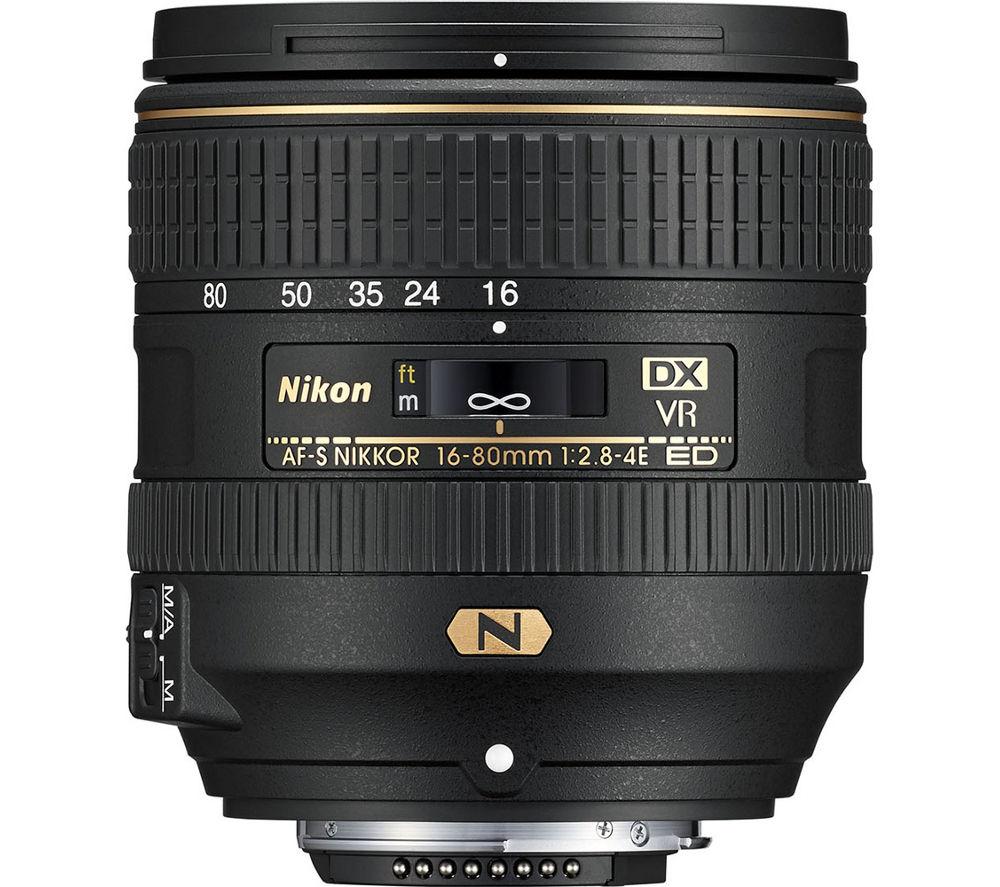 NIKON AF-S DX NIKKOR 16-80 mm f/2.8-4E ED VR Wide-angle Zoom Lens