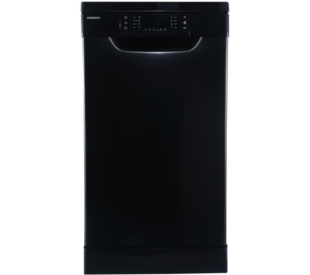 KENWOOD KDW45B16 Slimline Dishwasher - Black