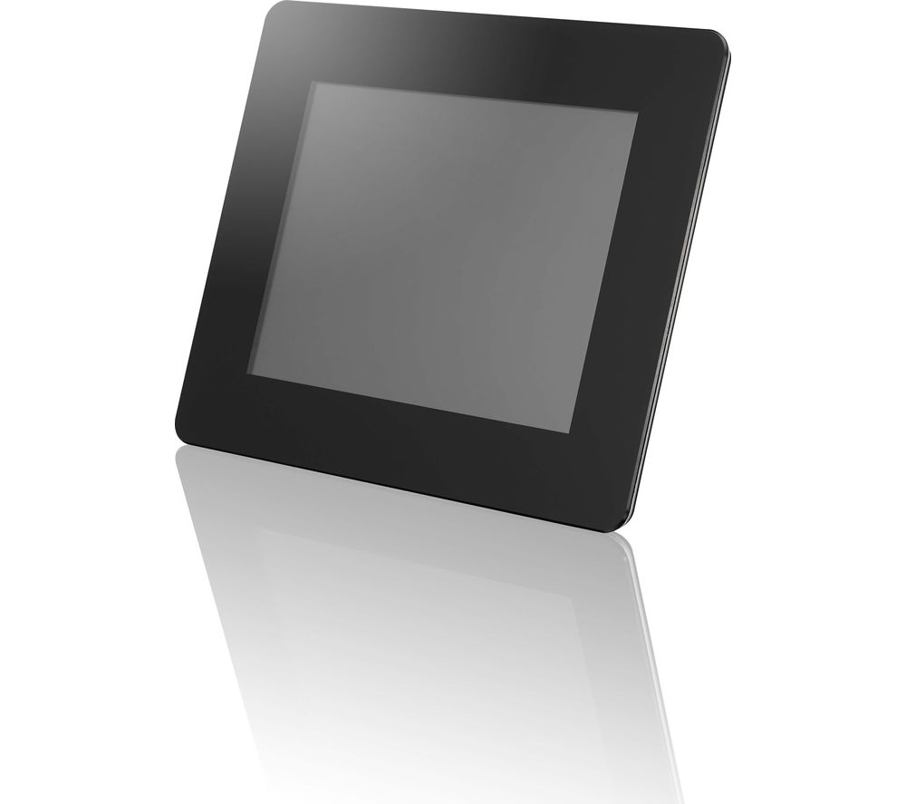logik l08dpf13 8 digital photo frame black - Electronic Picture Frame