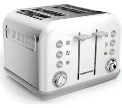 MORPHY RICHARDS Accents 242032 4-Slice Toaster - White