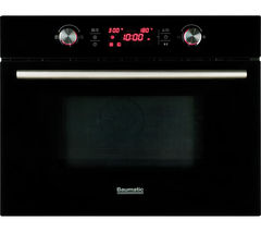 BMC460BGL Built-in Combination Microwave - Black Glass