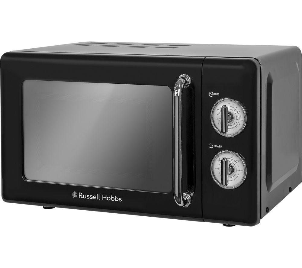 Rus Hobbs Rhretmm705b Solo Microwave Black