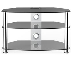 VIVANCO Brisa 1200 S TV Stand - Smoked
