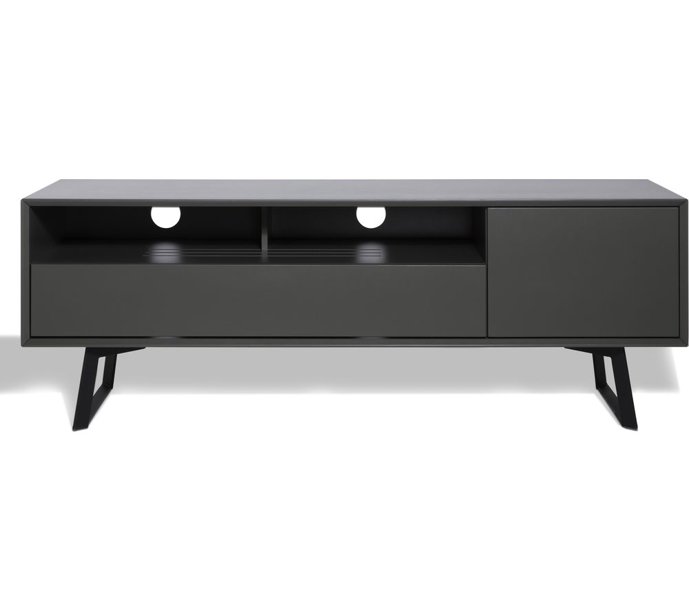 ALPHASON Carbon 1600 TV Stand - Grey, Grey