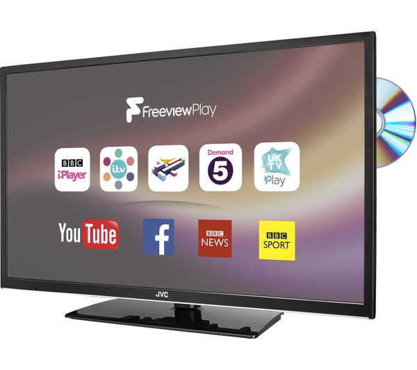 buy jvc lt 32c675 32 smart led tv with built in dvd player free