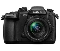 PANASONIC Lumix DC-GH5 Mirrorless Camera with 12-60 mm f/3.5-5.6 Lens