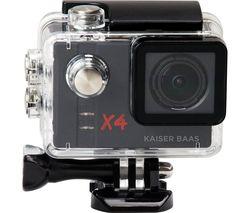 KAISER BAAS X4 Action Camera - Black