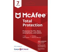 MCAFEE Total Protection 2018 - 1 user / 7 devices for 1 year