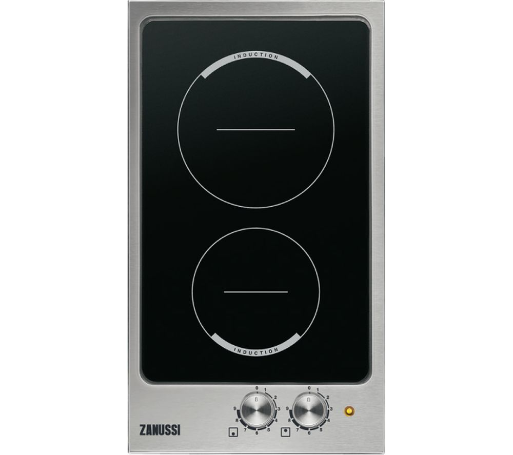 ZANUSSI ZEI3921IBS Electric Induction Domino Hob – Stainless Steel, Stainless Steel