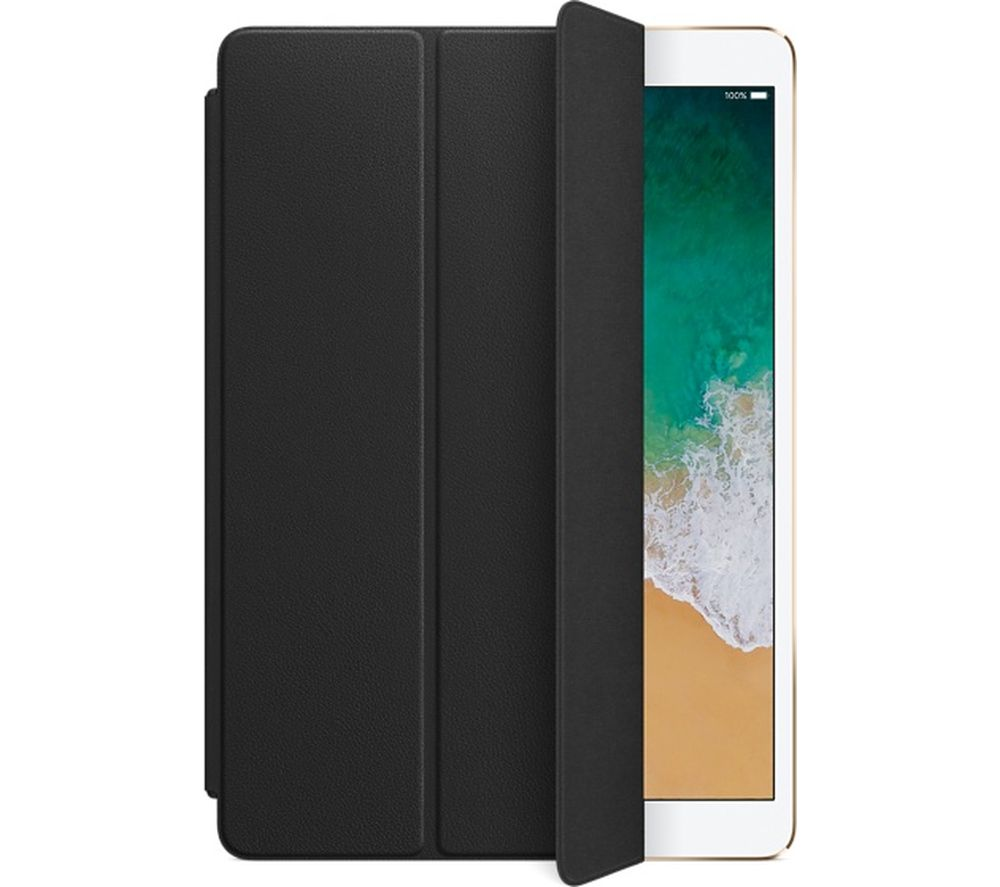 APPLE iPad Pro 10.5 inch Leather Smart Cover - Black