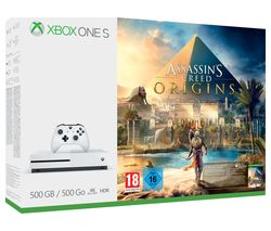 MICROSOFT Xbox One S with Assassin's Creed Origins