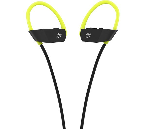 f9b8191a23a Buy GOJI GSHOKBT18 Wireless Bluetooth Headphones - Black & Green ...
