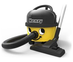 NUMATIC Henry HVR160 Cylinder Vacuum Cleaner - Yellow