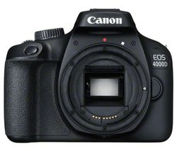 CANON EOS 4000D DSLR Camera - Body Only