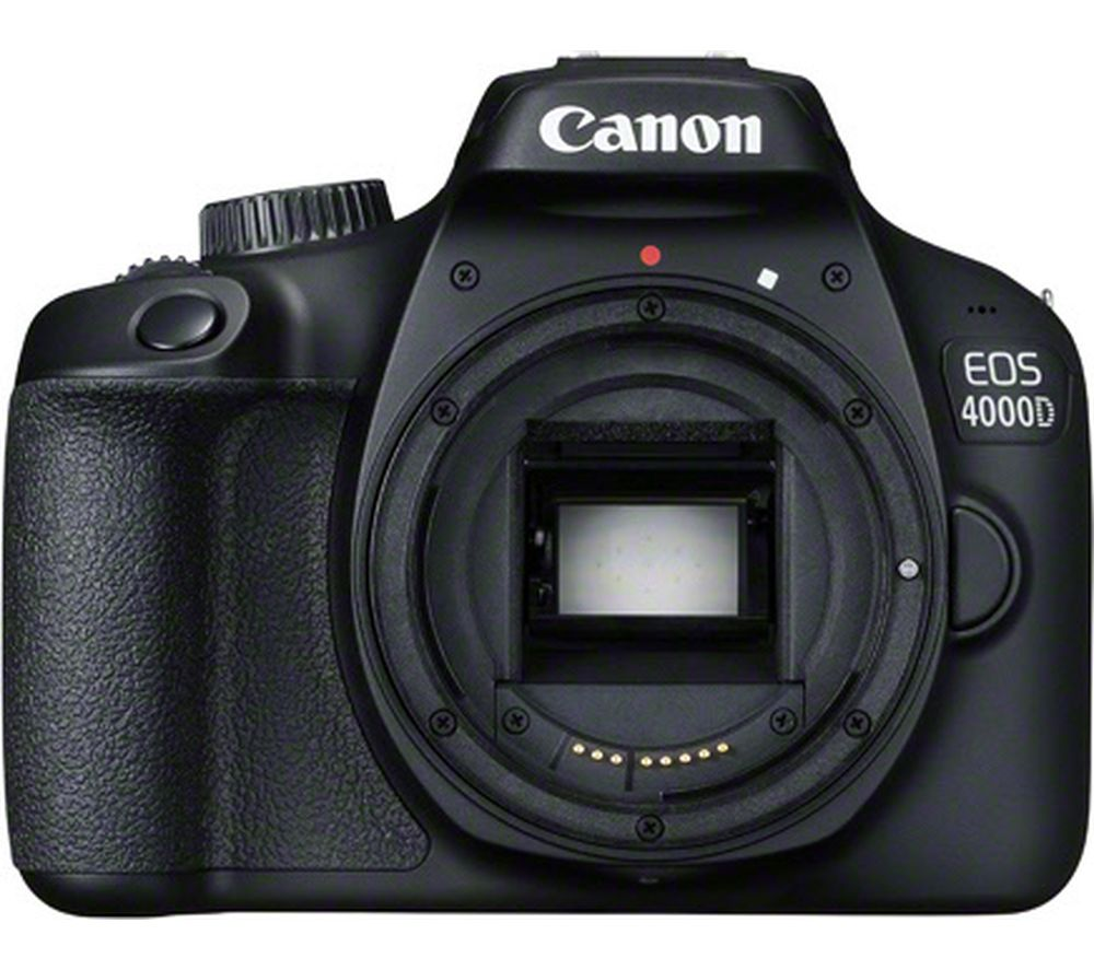 CANON EOS 4000D DSLR Camera – Body Only