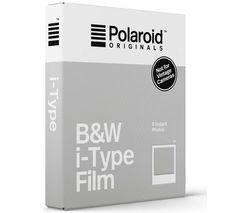 POLAROID Originals i-Type B&W Film - Pack of 8